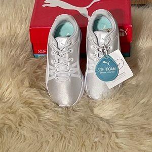 Puma soft foam optimal comfort white shoes 12.5